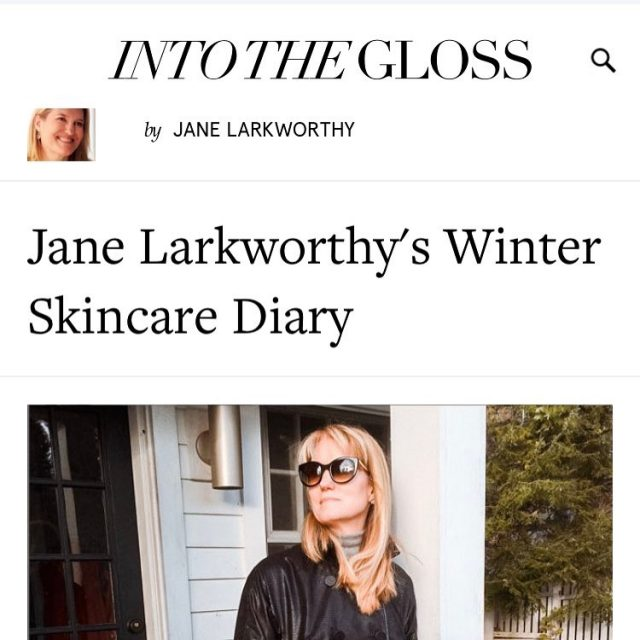 Lots of love to Beauty Editorial Legend janelarkworthy for includinghellip