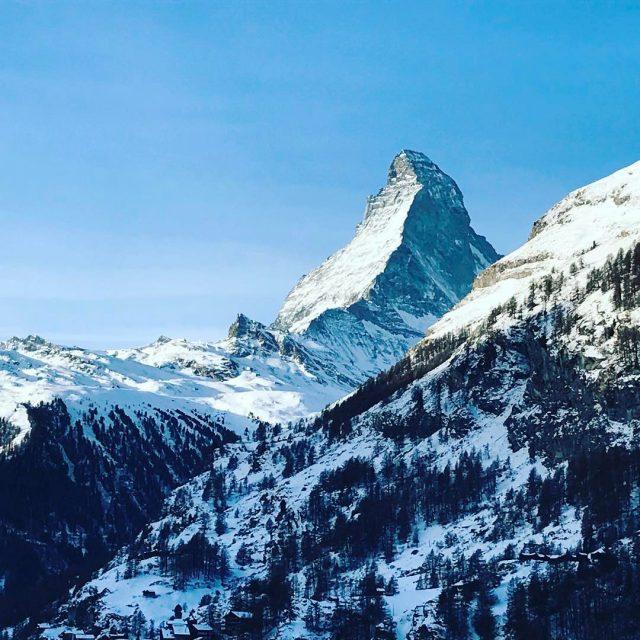 Current view!    mightymatterhorn chaletmaurice switzerland extraordinaire beautifulhellip
