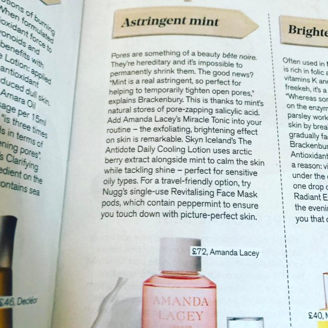 In todays stylistbeautydesk the Miracle Tonic takes centre stage withhellip