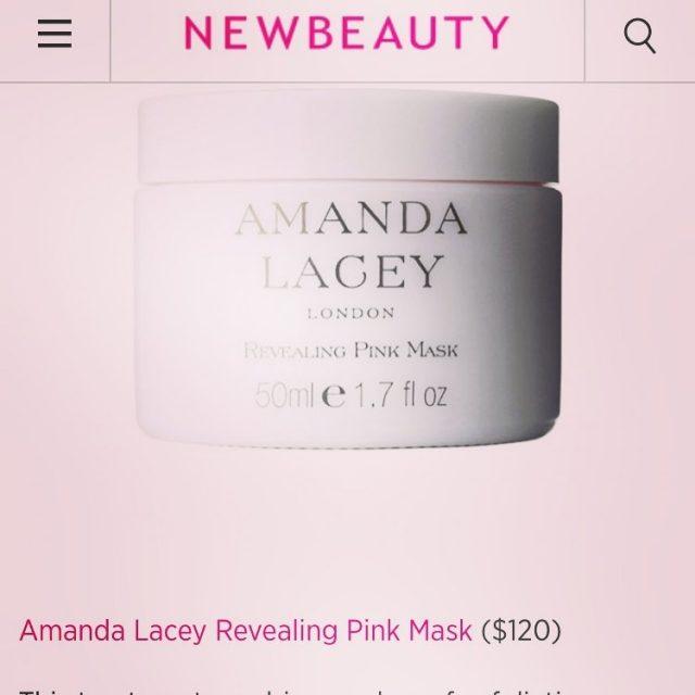 Today on NEWBEAUTY     newbeauty newbeautymagazine amandalaceyskincarehellip