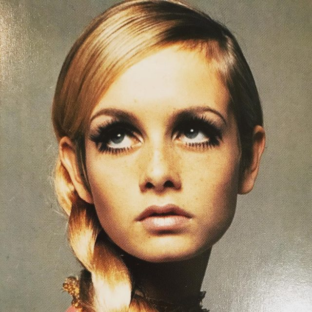 Pigtail magic! Twiggy 1966     bestofbritish twiggyhellip
